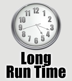 Long run time