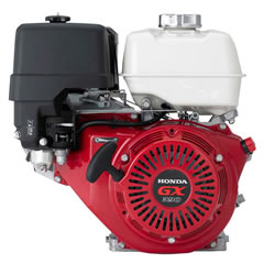 Powerful, easy to start Honda GX engine