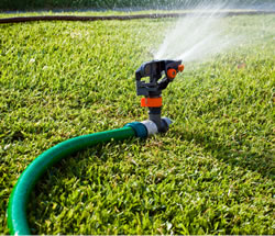 High pressure - ideal for sprinklers or nozzles