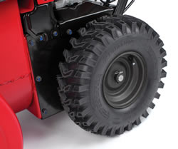 "Large 14"" Tall Pneumatic Sure-Grip Tires"