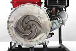 4 vane high efficiency impeller